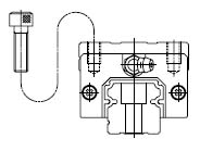 LH-AL-AN-BL-BN的滑块的 安装方式,NSK直线导轨,NSK线性导轨的安装方式