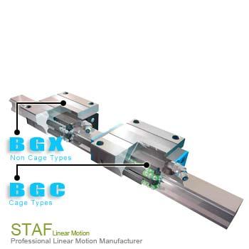 BGXS-B直线导轨(台湾STAF线性滑轨代理销售中心)